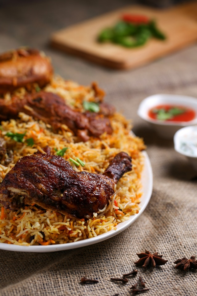 SMS Food Restaurant Jollof Rice